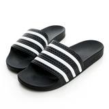 Adidas 男鞋 /女鞋 拖鞋-黑-280647