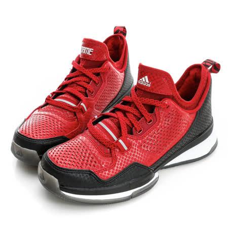 adidas (女)籃球鞋-紅-D69774