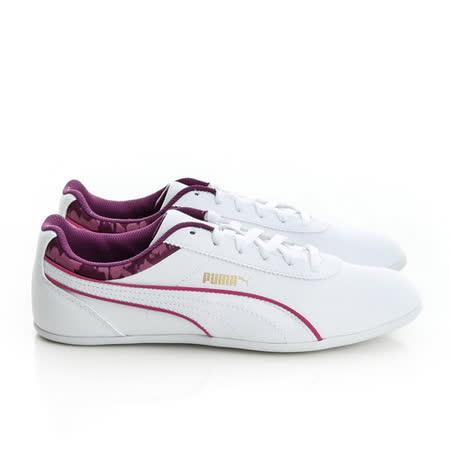 PUMA (女)賽車鞋-白-35877902