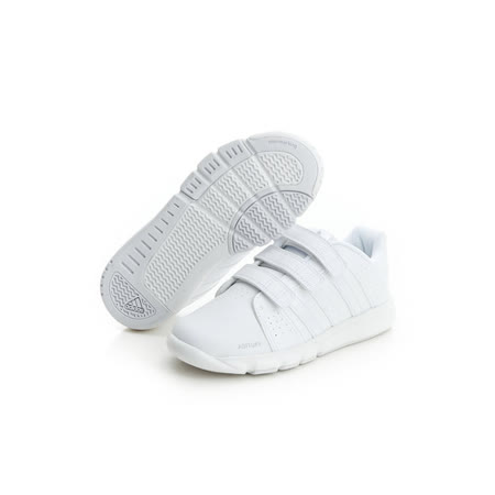 adidas (童)慢跑鞋-白-D65707