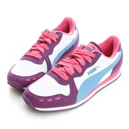 PUMA (童)賽車鞋-白-35197935