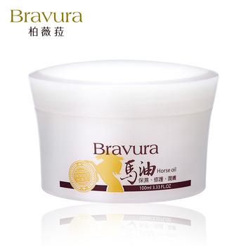 【柏薇菈Bravura】馬油滋養霜-清爽型(100ml)