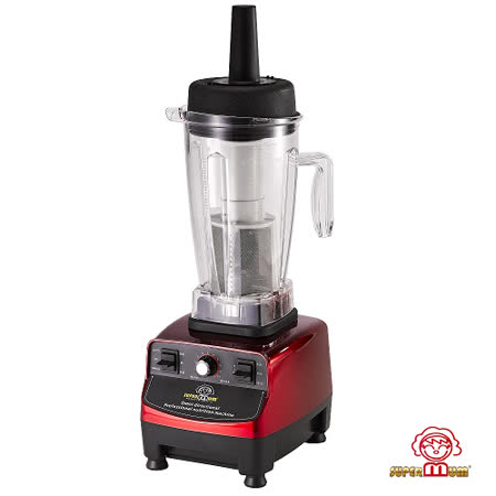 【SUPER MUM】全營養多功能調理機(加大調理杯+食物集中網+精美食譜) 紅色限定版 BTC-588