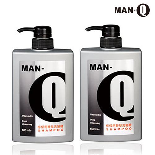 【MAN-Q】檸檬馬鞭草洗髮精600ml-2入