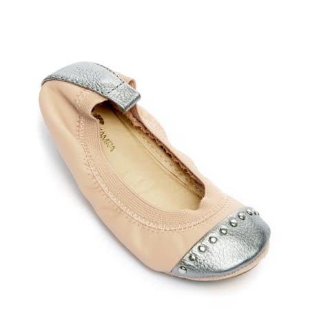 【Yosi Samra】(童鞋)甜蜜拼接款 淺粉紅