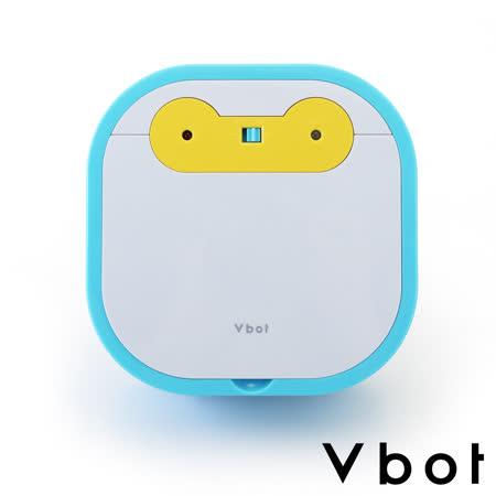Vbot 二代MINI超級鋰電池智慧掃地機器人(極淨濾網型)(藍白)