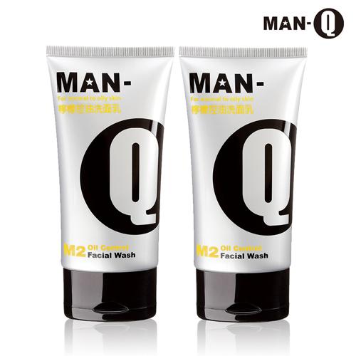 【MAN-Q】M2檸檬控油洗面乳100ml-2入