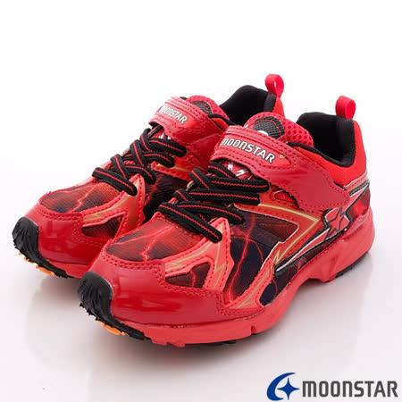 日本Carrot機能童鞋-全新彈力閃電款-SSJ6172紅-(19cm-24.5cm)