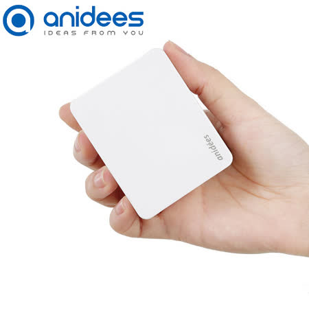 anidees 4Port USB 智能充電器 (摺疊頭)