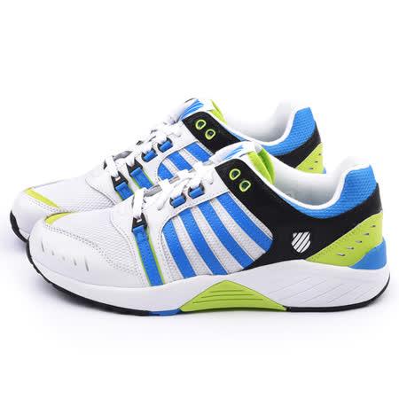 K-SWISS 男款 SI-18 TRAINER 3 運動鞋03514-189-白藍