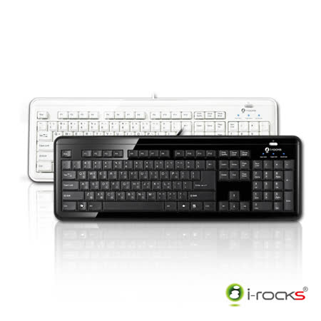i-Rocks KR-6170超薄剪刀腳專業鍵盤
