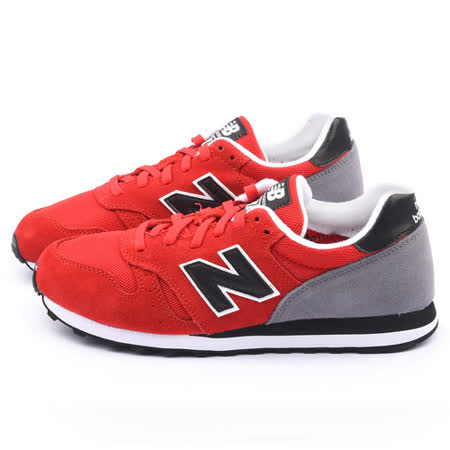 New Balance 男款 復古輕量運動鞋ML373SRR-紅灰