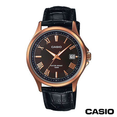 CASIO卡西歐 指針系列時尚商務石英男錶MTP-1383RL-5A
