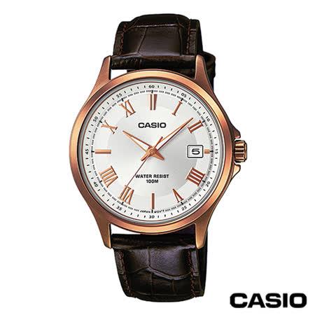 CASIO卡西歐 指針系列時尚商務石英男錶MTP-1383RL-7A