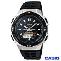 CASIO卡西歐 太陽能數位指針雙顯錶 AQ-S800W-1E