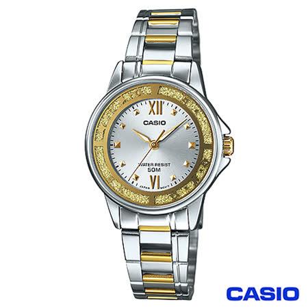 CASIO卡西歐 金色元素時尚驚豔指針女錶 LTP-1391SG-7A