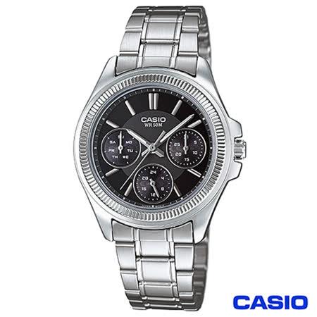 【好物分享】gohappy快樂購CASIO卡西歐 經典時尚三眼功能女性腕錶 LTP-2088D-1A好用嗎屏 東 愛 買