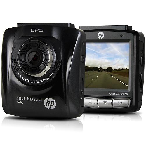 HP 惠普 f500g 1.9行車紀錄器評比大光圈 GPS測速提醒行車記錄器(送16G Class10記憶卡)