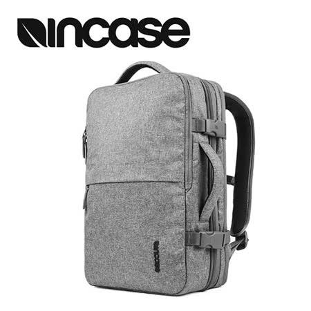 【INCASE】EO Travel Backpack 時尚輕巧後背式筆電旅行包 (麻灰)