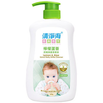 清淨海檸檬蘆薈奶瓶食器清潔液650g