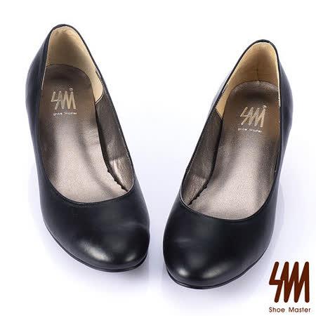 【好物分享】gohappySM -MIT時尚經典百搭原色真皮中低跟鞋-黑心得大 遠 擺