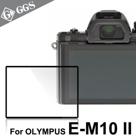 GGS第四代LARMOR金鋼防爆玻璃靜電吸附相機保護貼-OLYMPUS OM-D E-M10 Mark II專用
