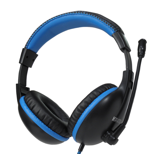 【KRATOR】絕音狂響-40mm重低音電競耳麥