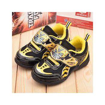 童鞋城堡 變形金剛 中大童 大黃蜂運動鞋 TF5115-黃