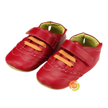 美國LIVIE&LUCA 寶寶佛林特學步鞋-紅 L5S6-Z002