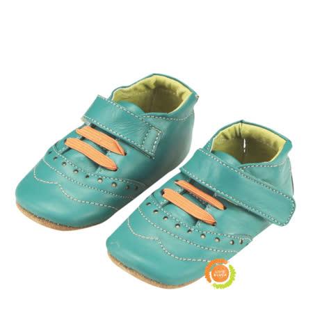 美國LIVIE&LUCA 寶寶佛林特學步鞋-綠 L5S6-Z002