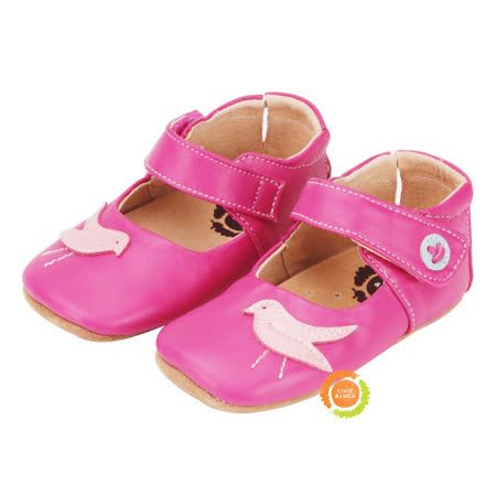 美國LIVIE&LUCA 寶寶鳥啾學步鞋-紅 L5S6-Z004