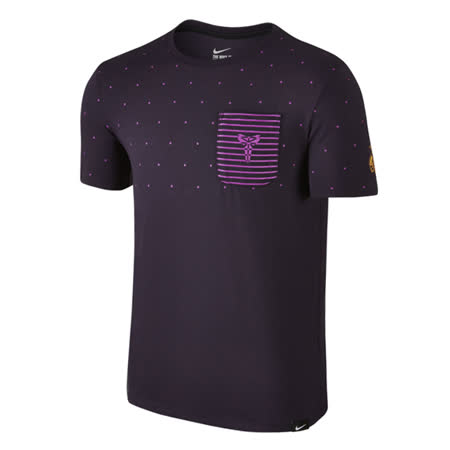 (男)NIKE KOBE X DRI-FIT POCKET 上衣 紫-779212570