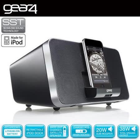 英國Gear4 DUO可分離式2.1無線藍芽音響系統 / 加送藍芽接收器及i-Phone5轉接頭