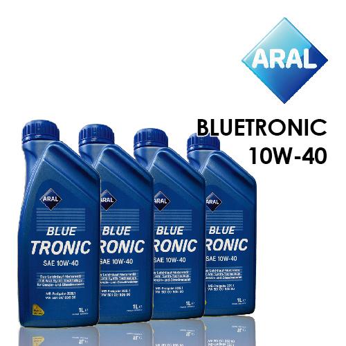 【亞拉ARAL】BLUETRONIC 10W-40 (完工價) 4公升精緻商務保養