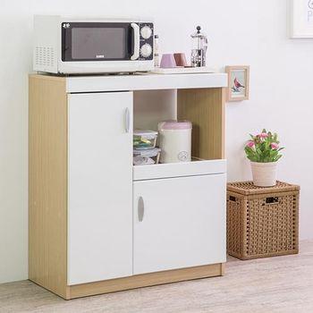 優居家 鏡面雙門五格 廚房收納櫃