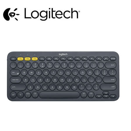 Logitech 羅技 K380跨平台藍牙鍵盤(灰黑)