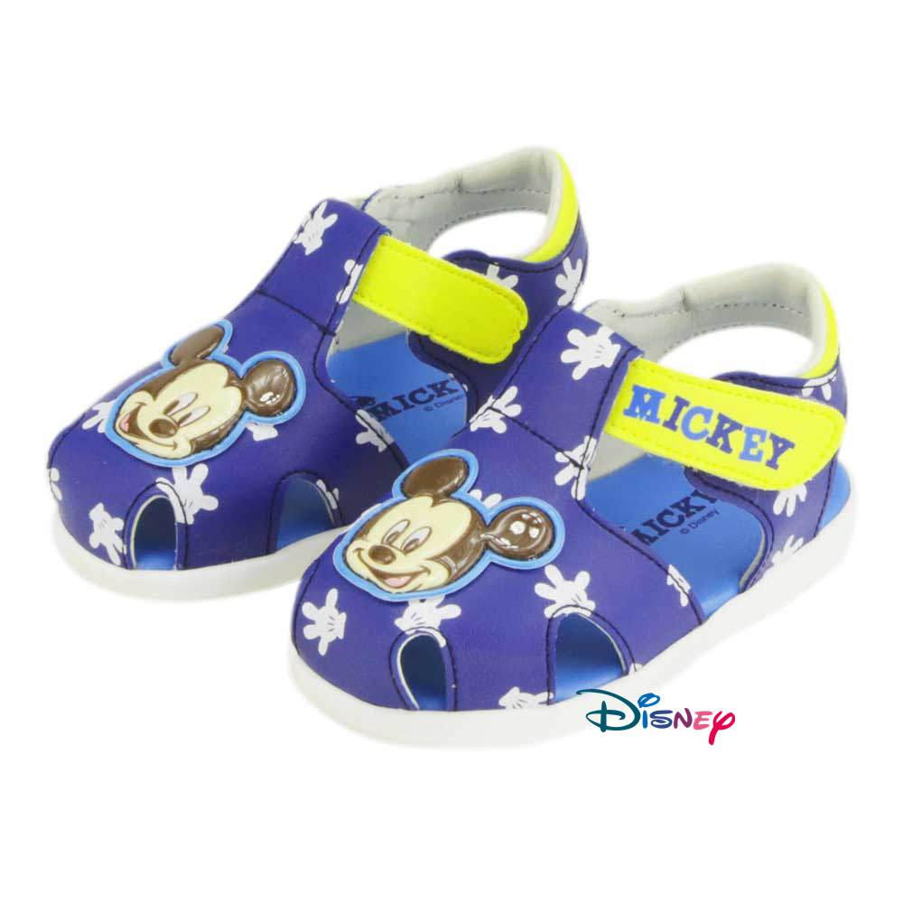 ~MODAbobo~迪士尼Disney 小中童米奇米妮大頭涼鞋~藍 D5S2~453241