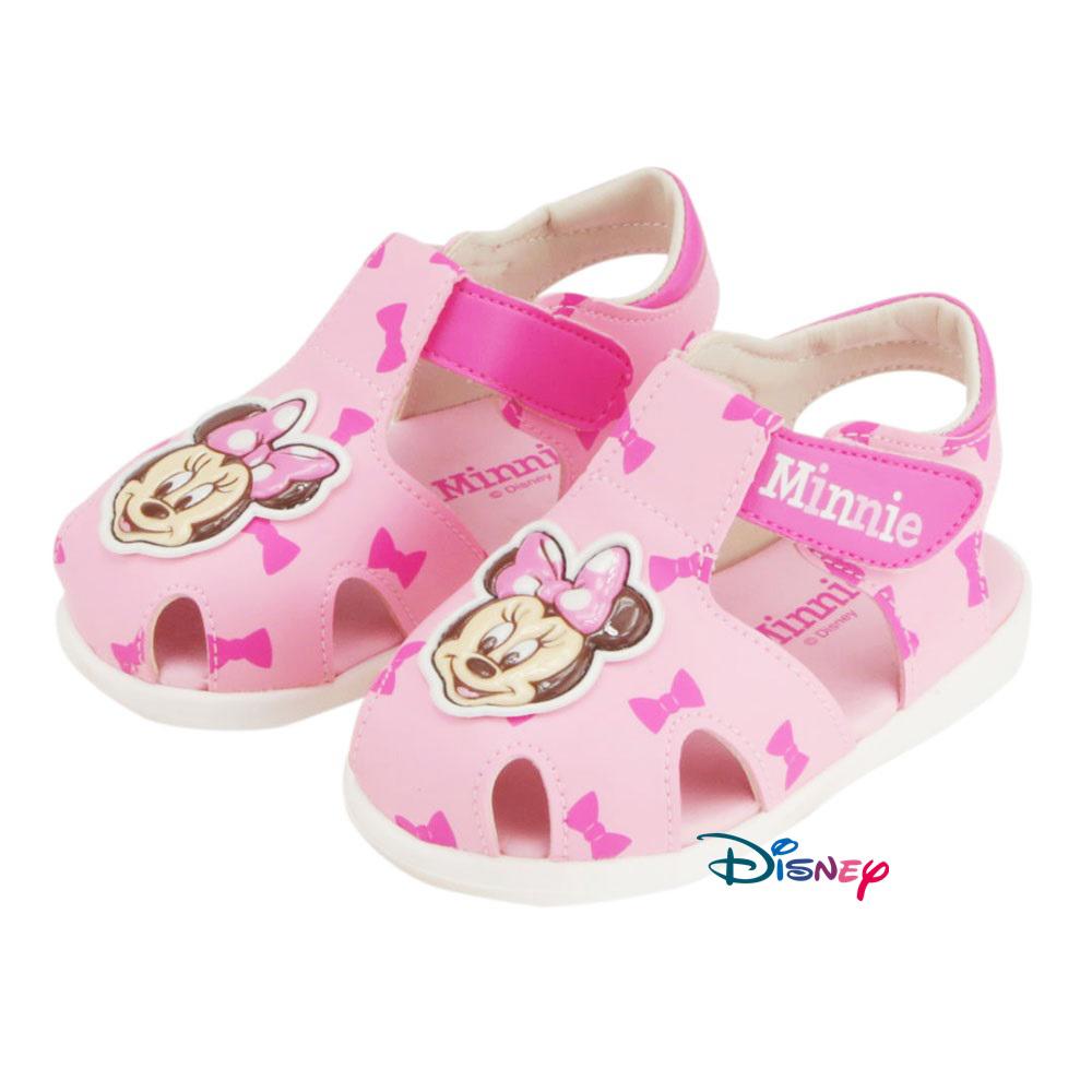 ~MODAbobo~迪士尼Disney 小中童米奇米妮大頭涼鞋~粉 D5S2~453241