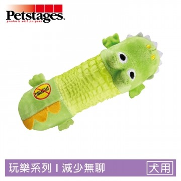 Petstages631 嗶波鱷魚 1入裝