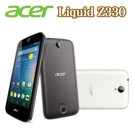 Acer Liquid Z330 四核心4.5快樂 購 卡吋4G LTE雙卡智慧機(簡配/公司貨)