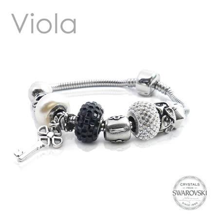 【Viola】爵士奇想手鍊 (採用施華洛世奇元素)
