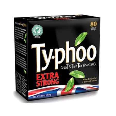 Typhoo 特濃紅茶80入-裸包(共250g)