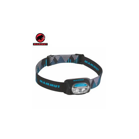 【瑞士 MAMMUT 長毛象】新款T-BASE Headlamp 輕量化頭燈_黑 00320