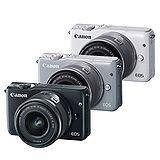 Canon EOS M10 + EF-M 15-45mm 單鏡組(公司貨).-送大吹球+拭鏡筆+拭鏡布+保護貼