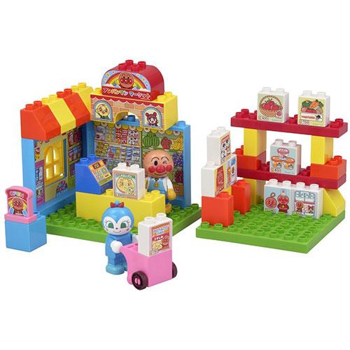 《 麵包超人 》ANP積木玩具(超市)