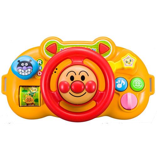 《 麵包超人 》ANP嬰兒車用方向盤玩具