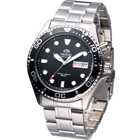 ORIENT 東方海上霸者機械鋼帶腕錶/40mm(FEM65008B)