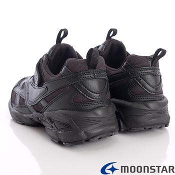 【日本第一品牌月星童鞋】私校特注純黑系列-MFC06TW6(19cm~24.5cm)