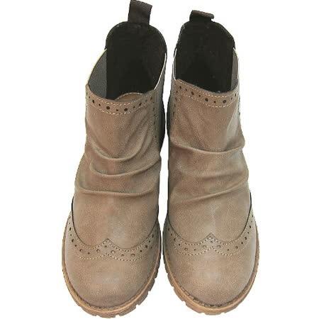 【波克貓哈日網】日系皮短靴◇Crepe Soles◇《淺棕色》