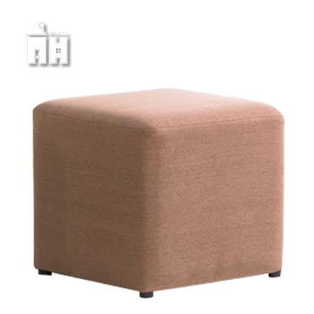 AT HOME-小沙發椅凳(淺咖啡色)